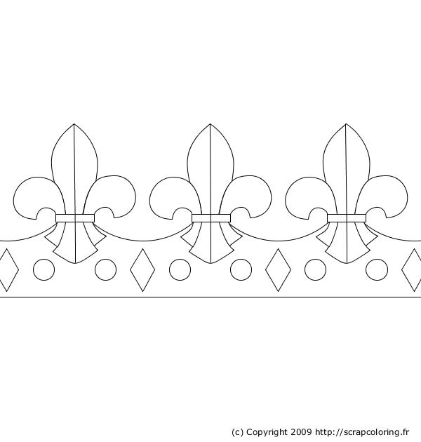 Coloriages à imprimer : Galette des Rois, numéro : 4174