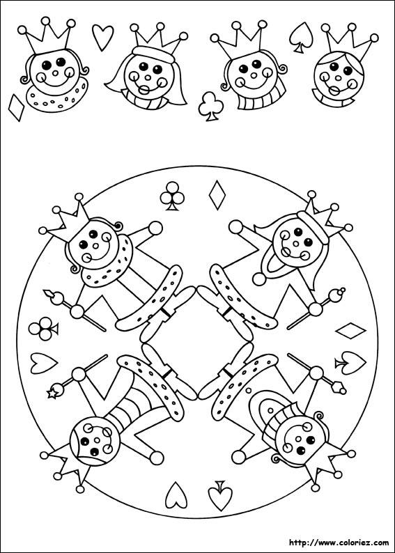 Coloriages à imprimer : Galette des Rois, numéro : 4191