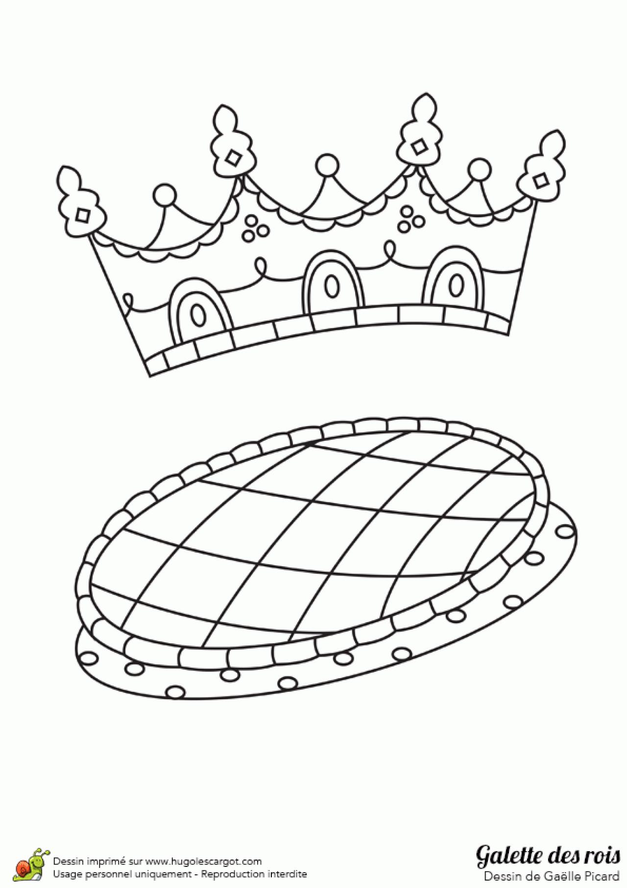 Coloriages à imprimer : Galette des Rois, numéro : 71aeb0d3