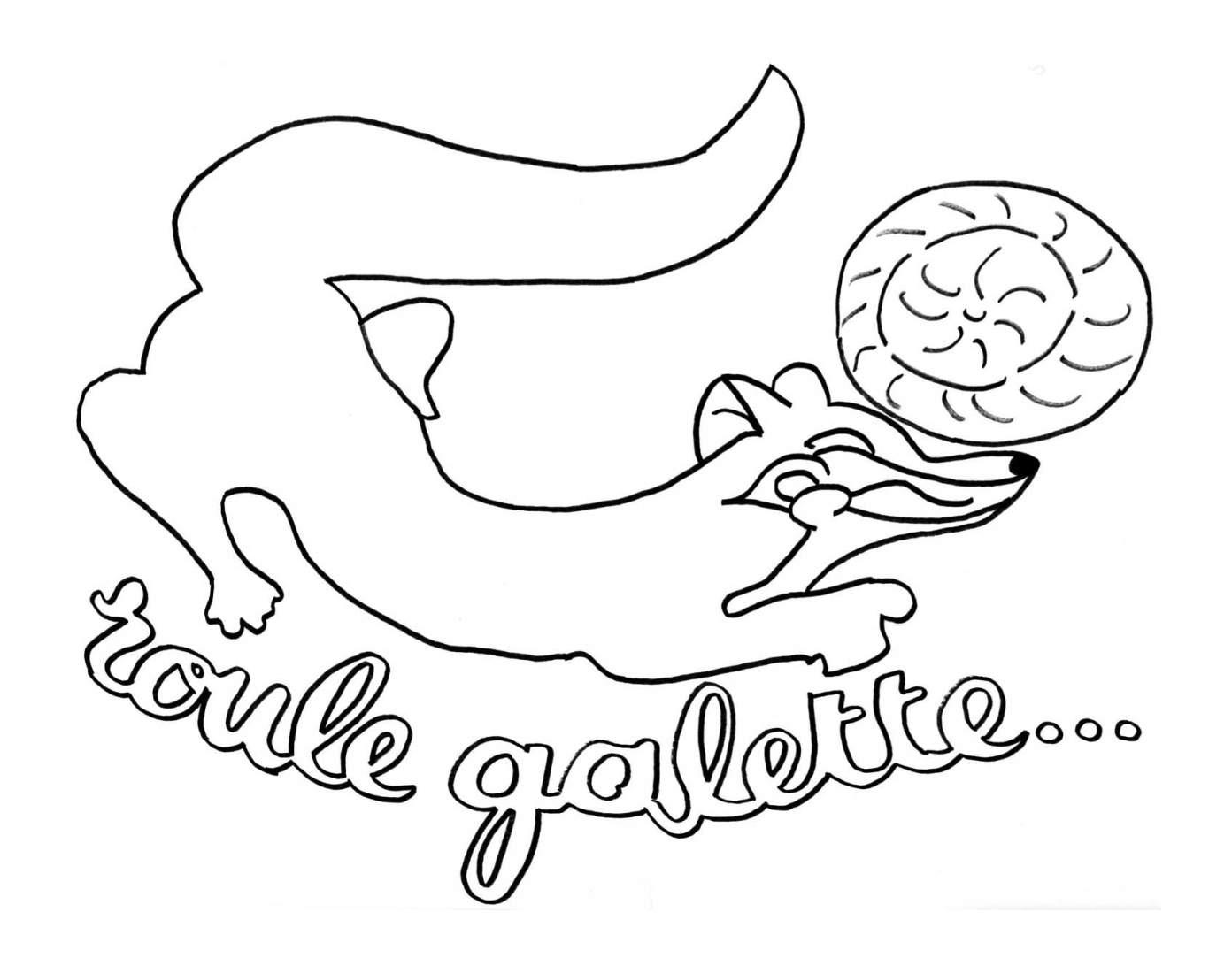 Coloriages à imprimer : Galette des Rois, numéro : 9ab335f
