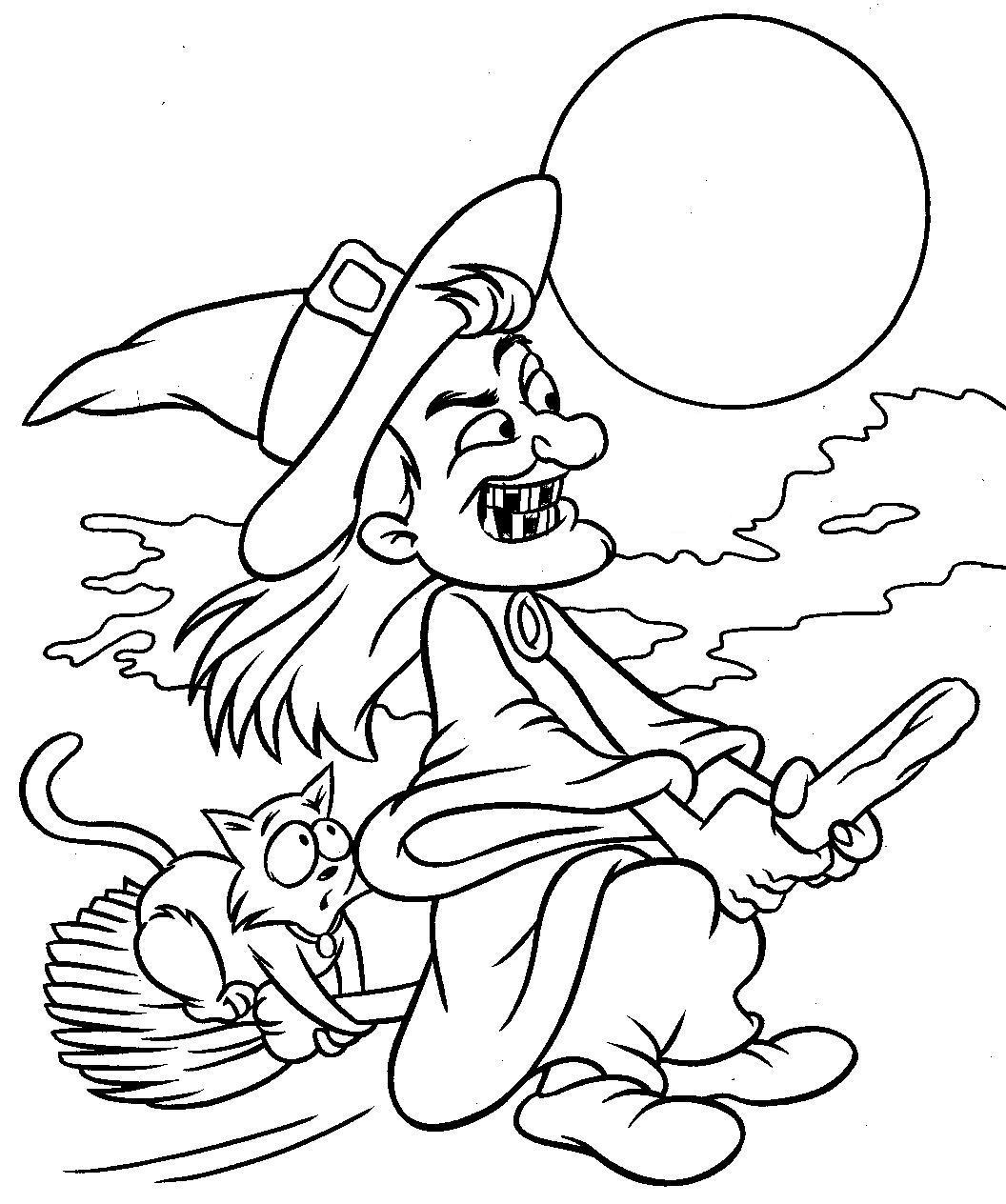Coloriages à imprimer : Halloween, numéro : 28557