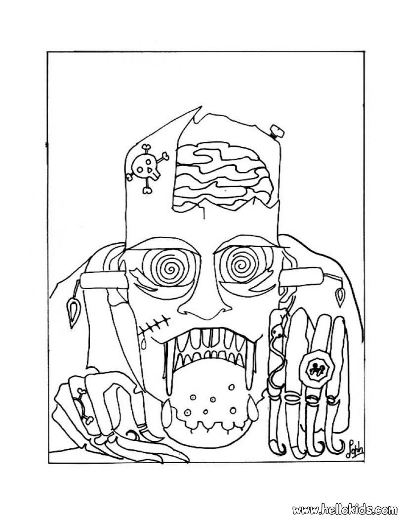 Coloriages à imprimer : Halloween, numéro : 29308
