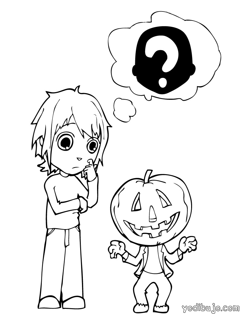 Coloriages à imprimer : Halloween, numéro : 29747