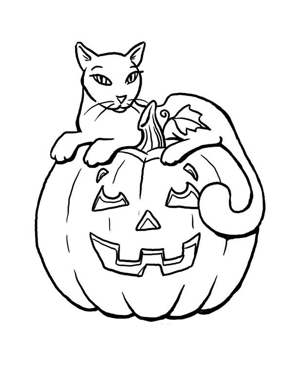 Coloriages imprimer citrouille num ro 124709 - Citrouille a colorier halloween ...