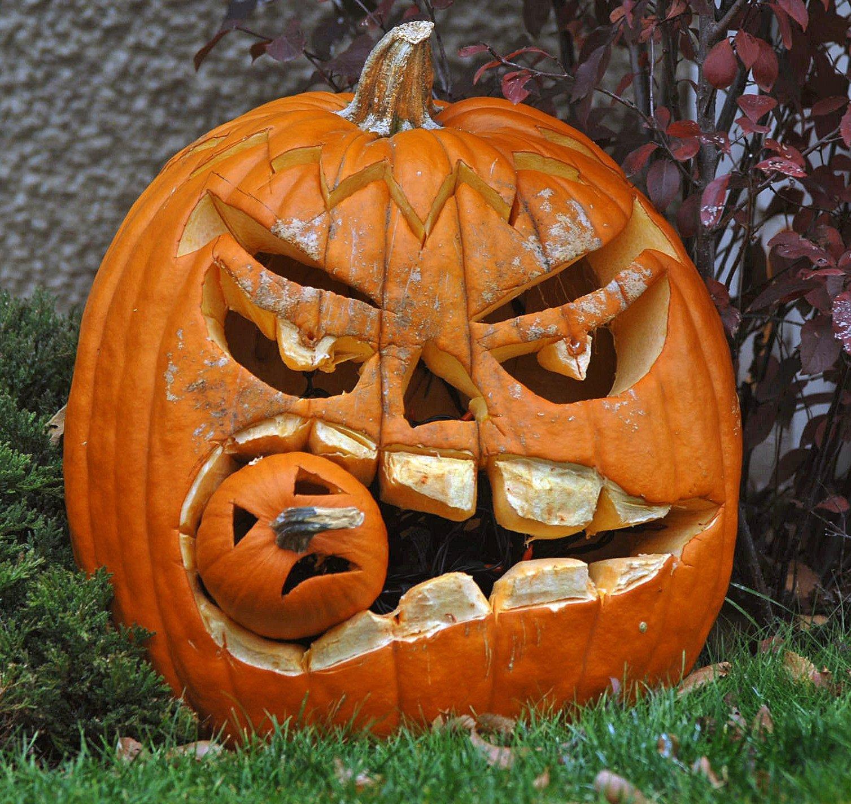 Dessin en couleurs imprimer ev nements halloween citrouille num ro 685396 - Citrouille halloween dessin couleur ...