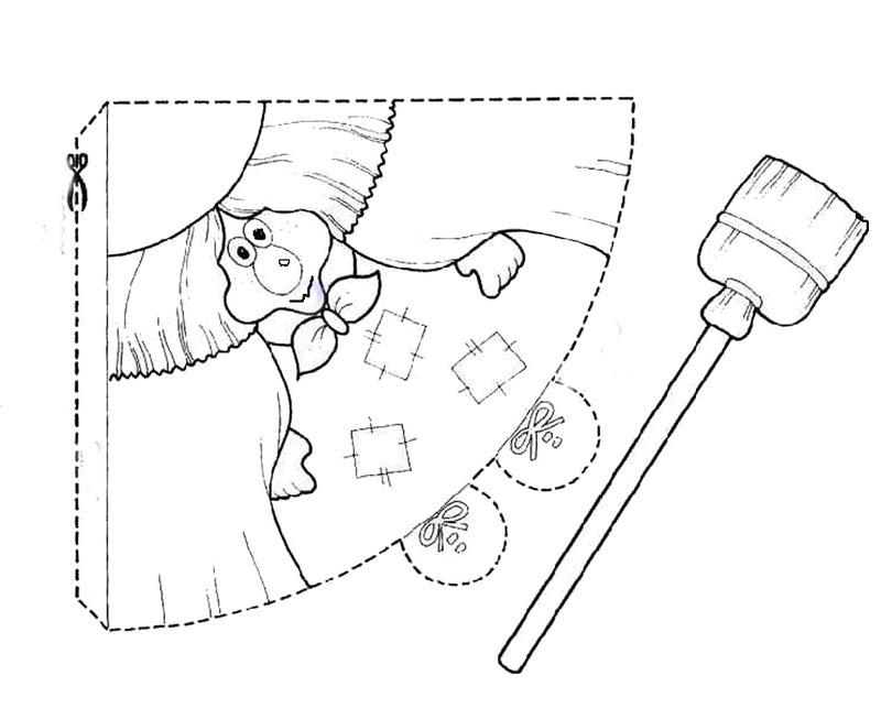 coloriages imprimer sorci re num ro 44699. Black Bedroom Furniture Sets. Home Design Ideas