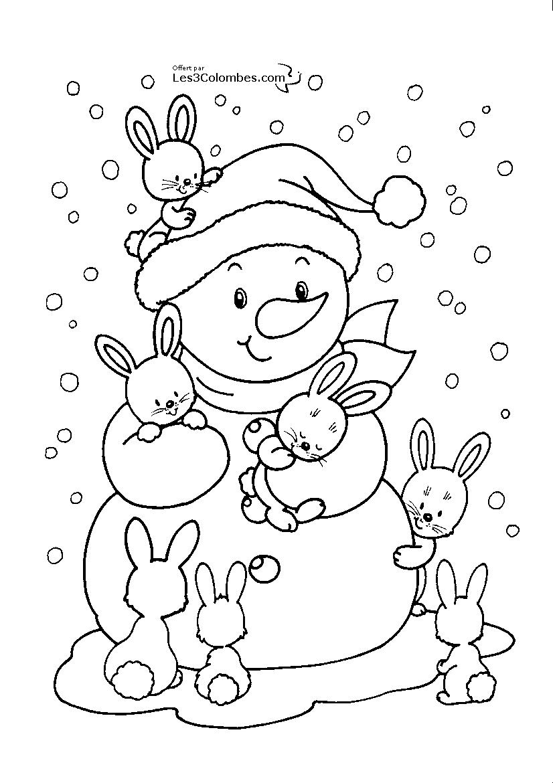 Coloriages à imprimer : Noël, numéro : 362581