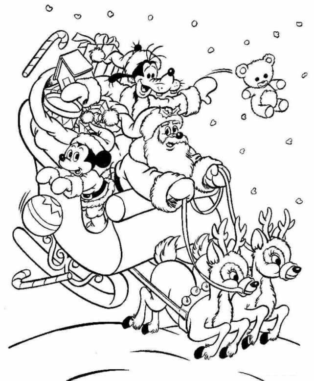 Coloriages à imprimer : Noël, numéro : 4897