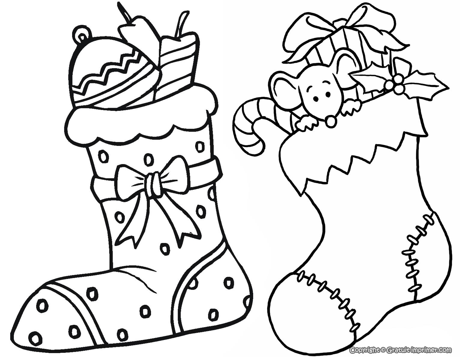 Coloriages à imprimer : Noël, numéro : 66504