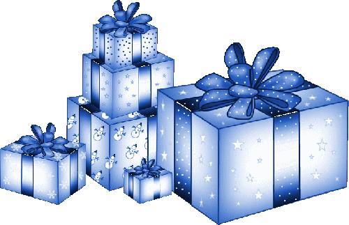 Dessins en couleurs imprimer cadeau de no l num ro - Dessin cadeau anniversaire ...