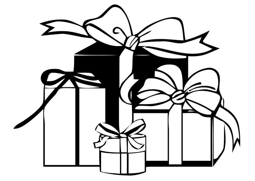 Coloriages à imprimer : Cadeau de Noël, numéro : 44610