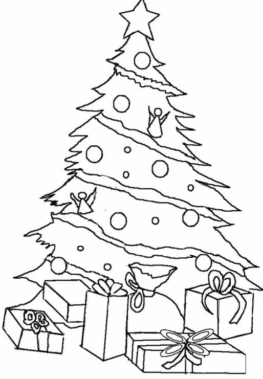 Coloriages imprimer cadeau de no l num ro 44810 - Cadeau coloriage ...