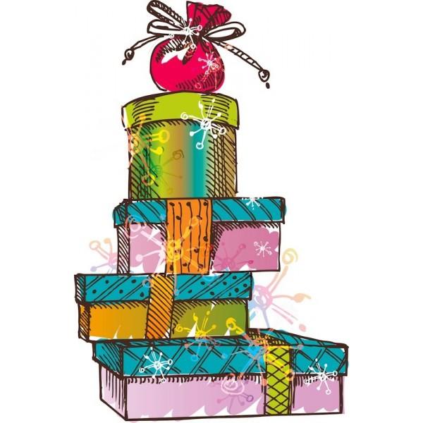 Dessin cadeau noel - Dessin de cadeau ...