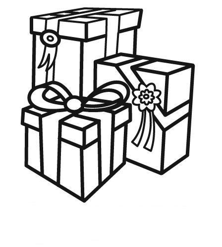 Coloriages à imprimer : Cadeau de Noël, numéro : 760380