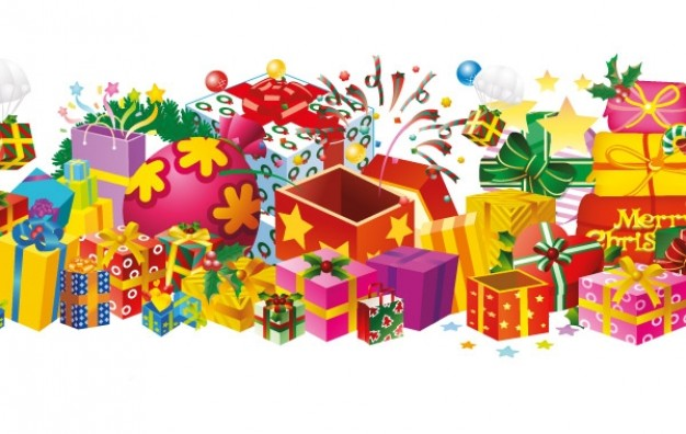 Dessins en couleurs imprimer cadeau de no l num ro - Tirage au sort cadeau de noel ...