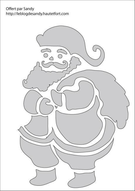 Coloriages à Imprimer Père Noël Numéro 182898