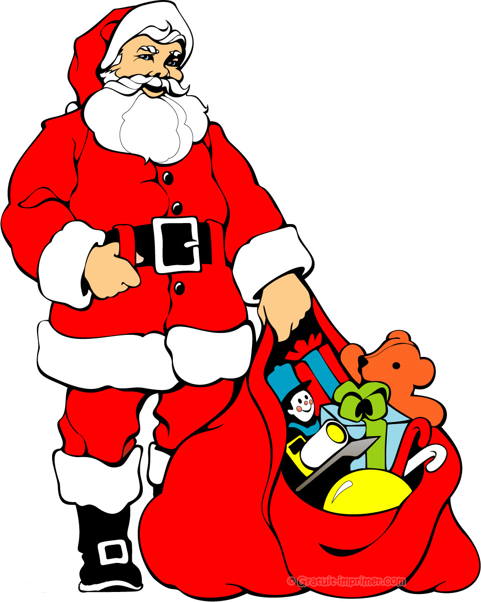 Dessins en couleurs imprimer p re no l num ro 76346 - Dessins pere noel ...
