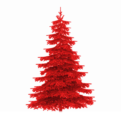 Sapin de noel rouge noel 2017 for Decoration sapin de noel rouge et blanc