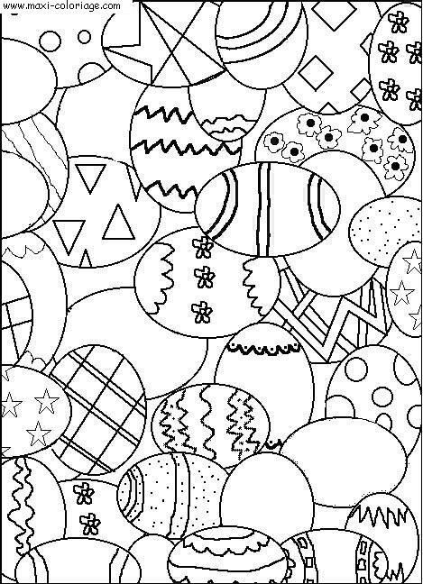 Coloriages à imprimer : Pâques, numéro : 16780