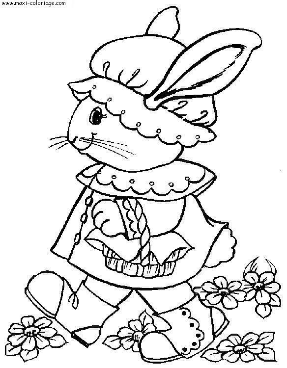Coloriages à imprimer : Pâques, numéro : 5481