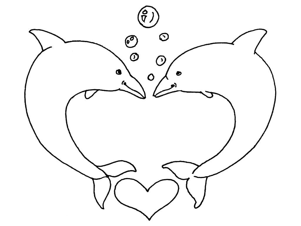 Coloriage st valentin dessin chien - St valentin dessin ...
