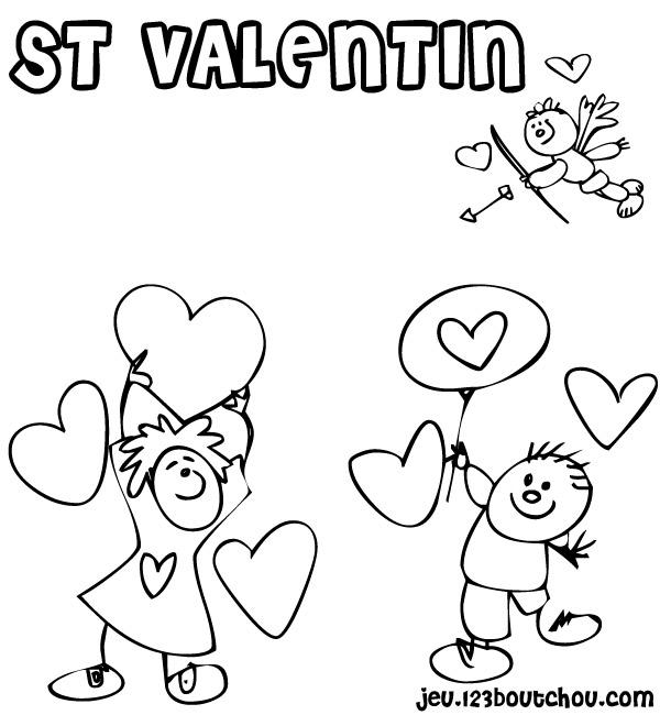 Coloriages à Imprimer Saint Valentin Numéro 16770