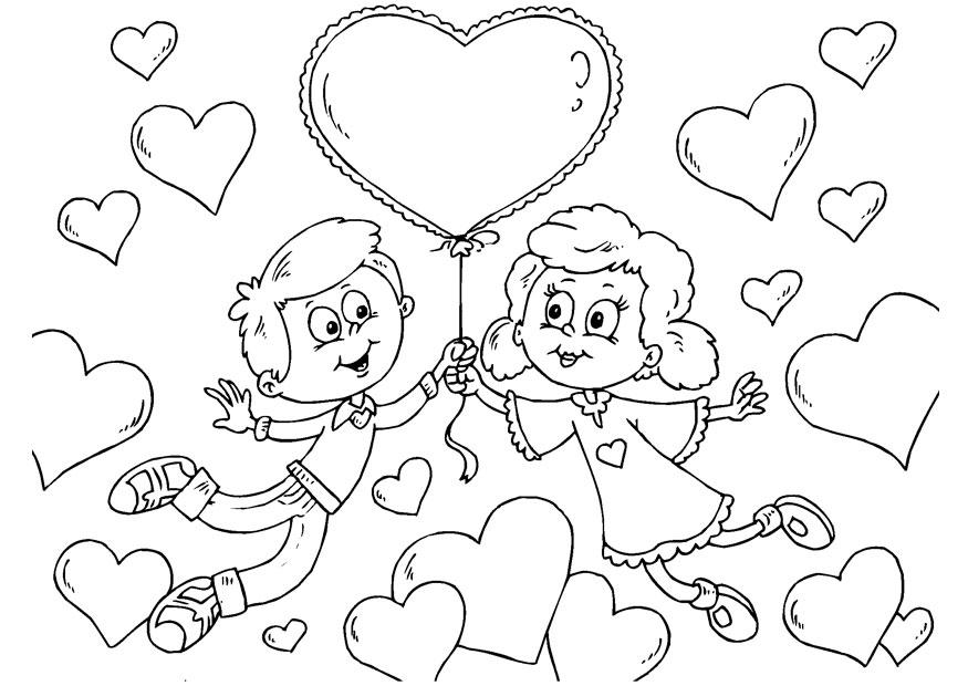 Coloriages à imprimer : Saint-Valentin, numéro : 26572