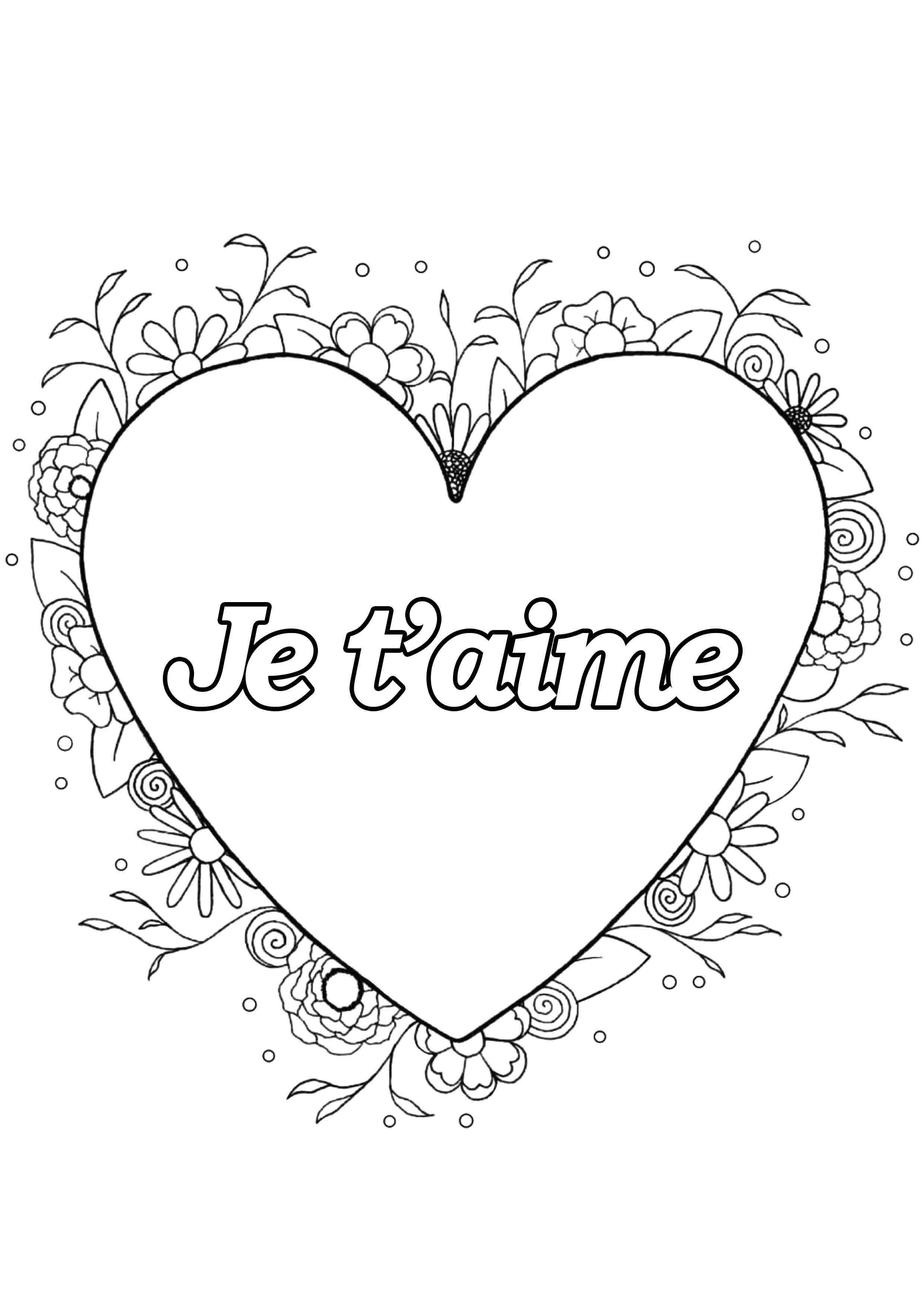Coloriages à imprimer : Saint-Valentin, numéro : 31eb8b26