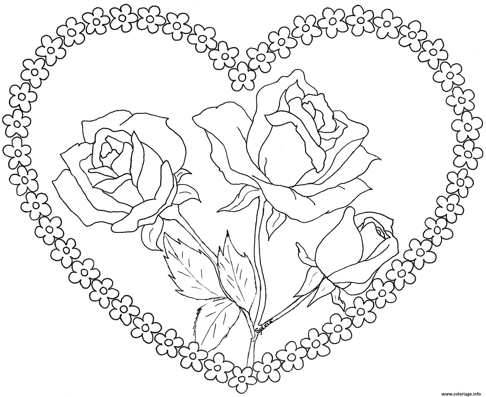 Coloriages à imprimer : Saint-Valentin, numéro : 325b5d31