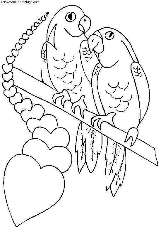 Coloriages à imprimer : Saint-Valentin, numéro : 4163