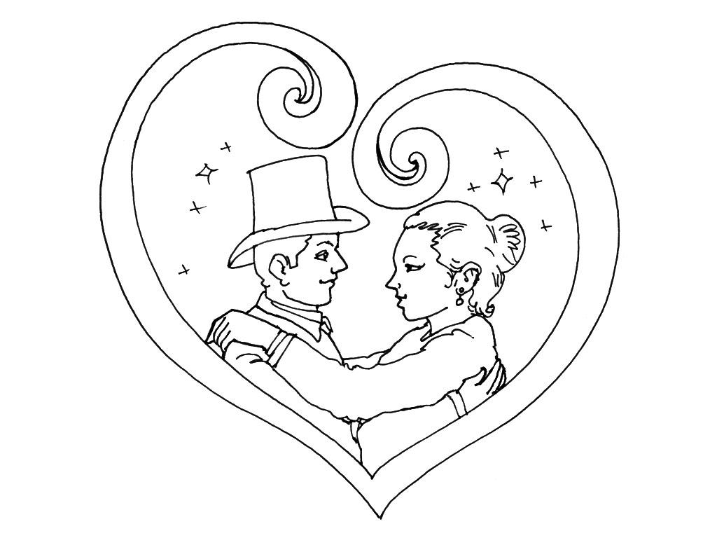 Coloriages à imprimer : Saint-Valentin, numéro : 424840