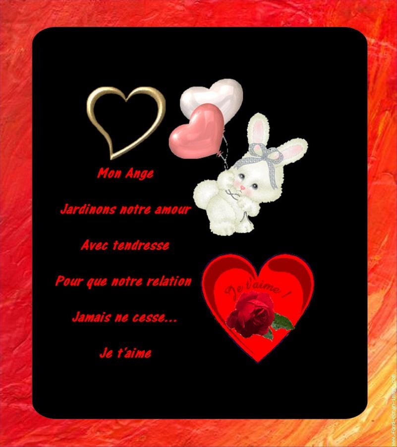 saint valentin poeme