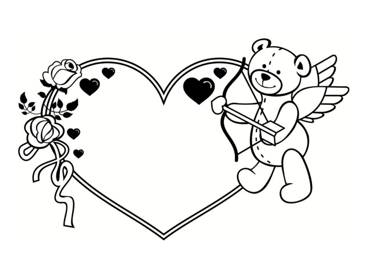 Coloriages à imprimer : Saint-Valentin, numéro : 91da8a0c