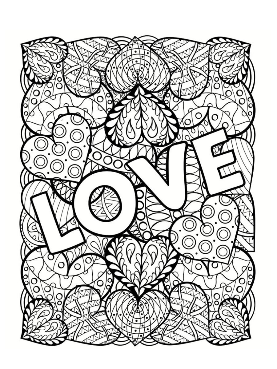 Coloriages à imprimer : Saint-Valentin, numéro : d612fa6