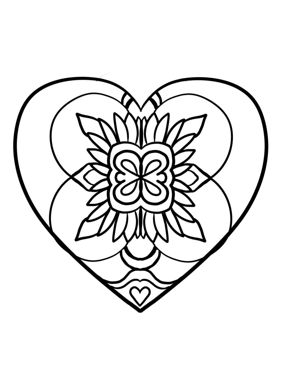 Coloriages à imprimer : Saint-Valentin, numéro : ee4ee1a9