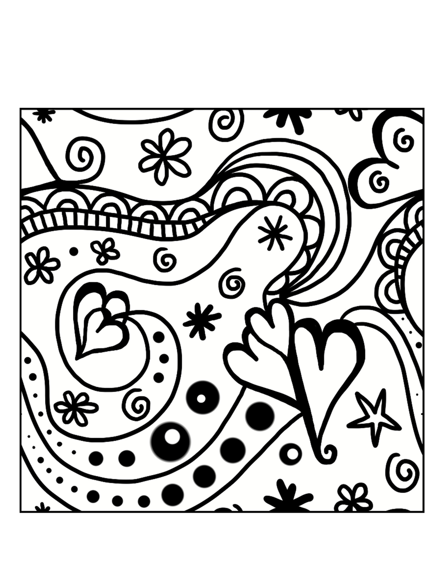 Coloriages à imprimer : Saint-Valentin, numéro : f198376a