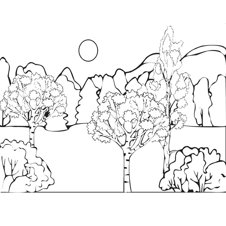 Coloriages à imprimer : Nature, numéro : 1552