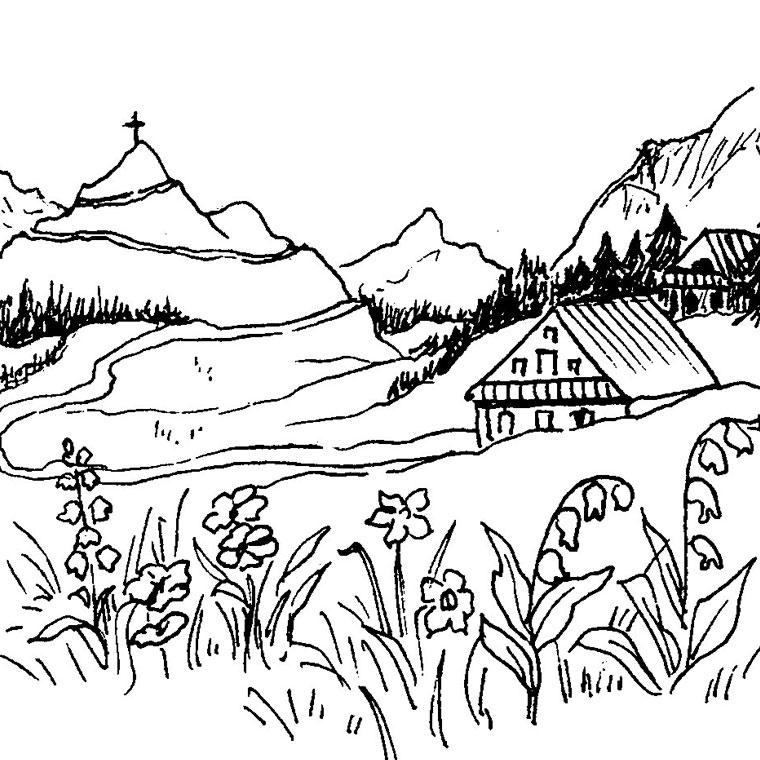 Coloriages à imprimer : Nature, numéro : 16282