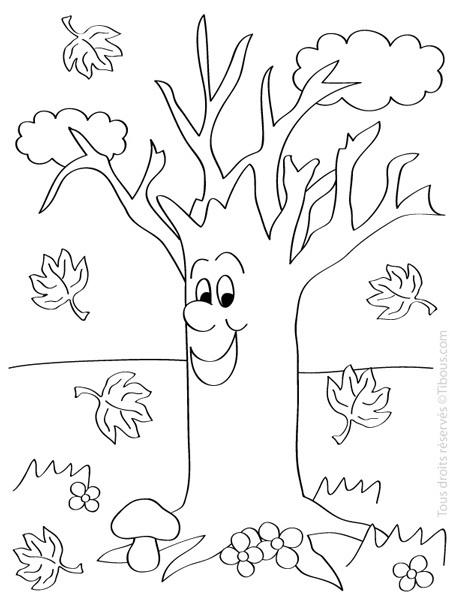 Coloriages à imprimer : Arbres, numéro : 5225