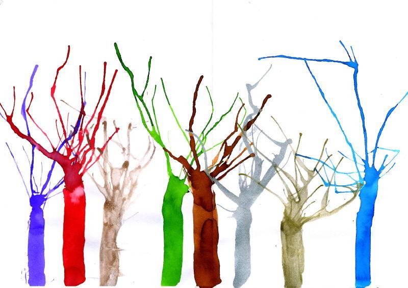 dessins en couleurs imprimer arbres num ro 580416. Black Bedroom Furniture Sets. Home Design Ideas