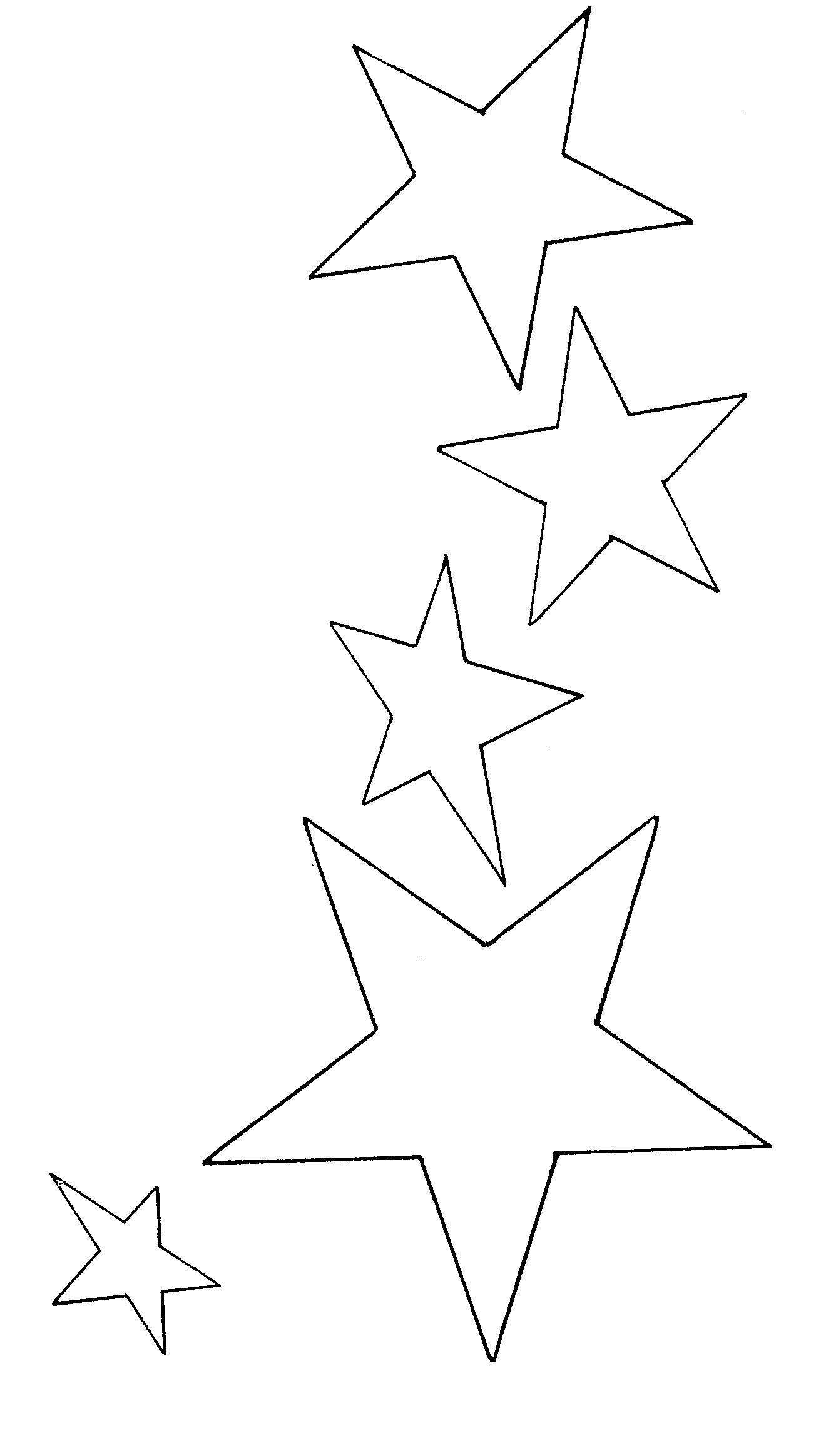 Coloriages à imprimer : Etoile filante, numéro : 671654