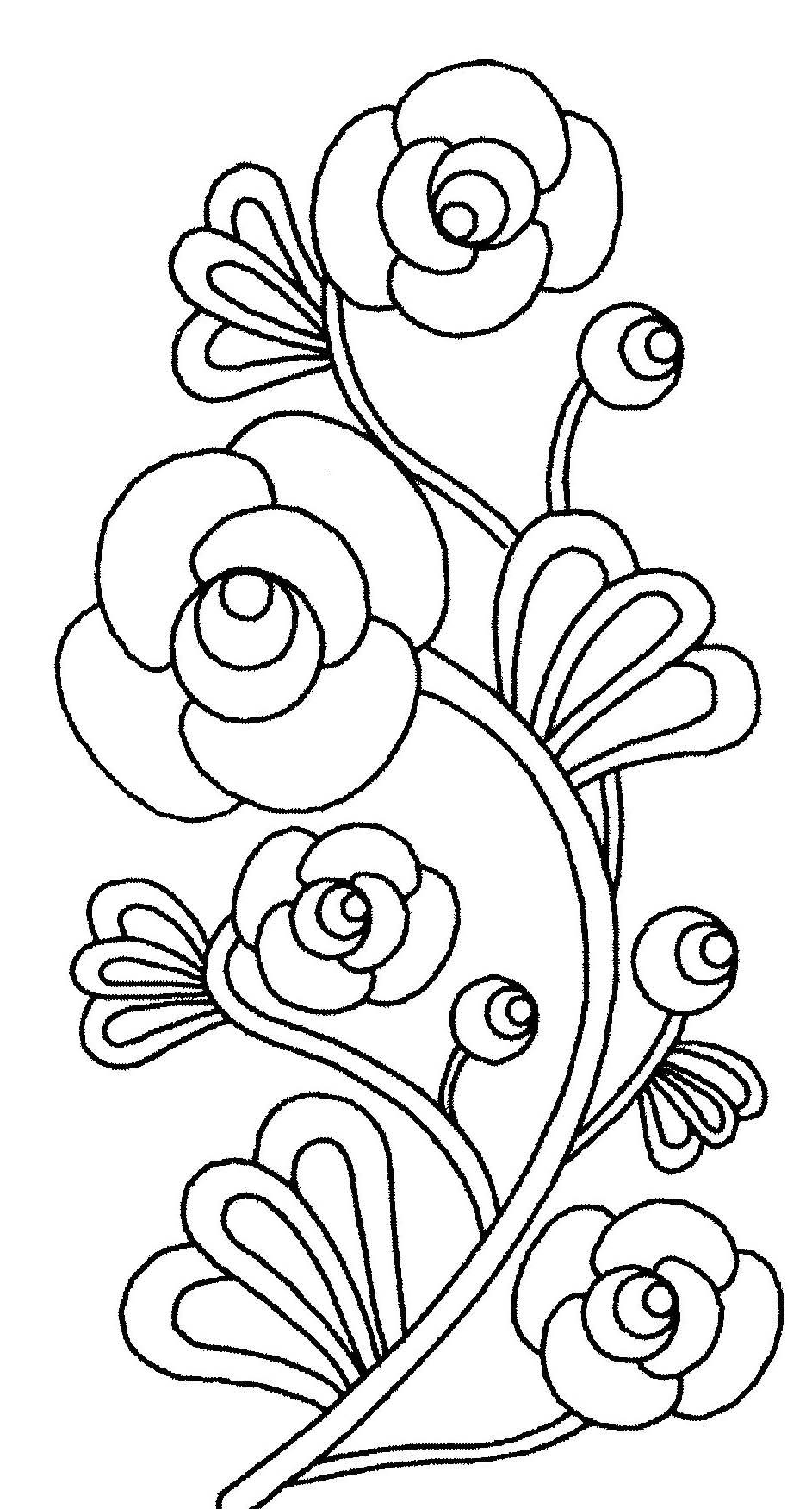 Coloriages à imprimer : Fleurs, numéro : 1143