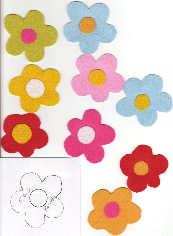 Dessins en couleurs imprimer fleurs num ro 11813 - Fleur a colorier et a decouper ...