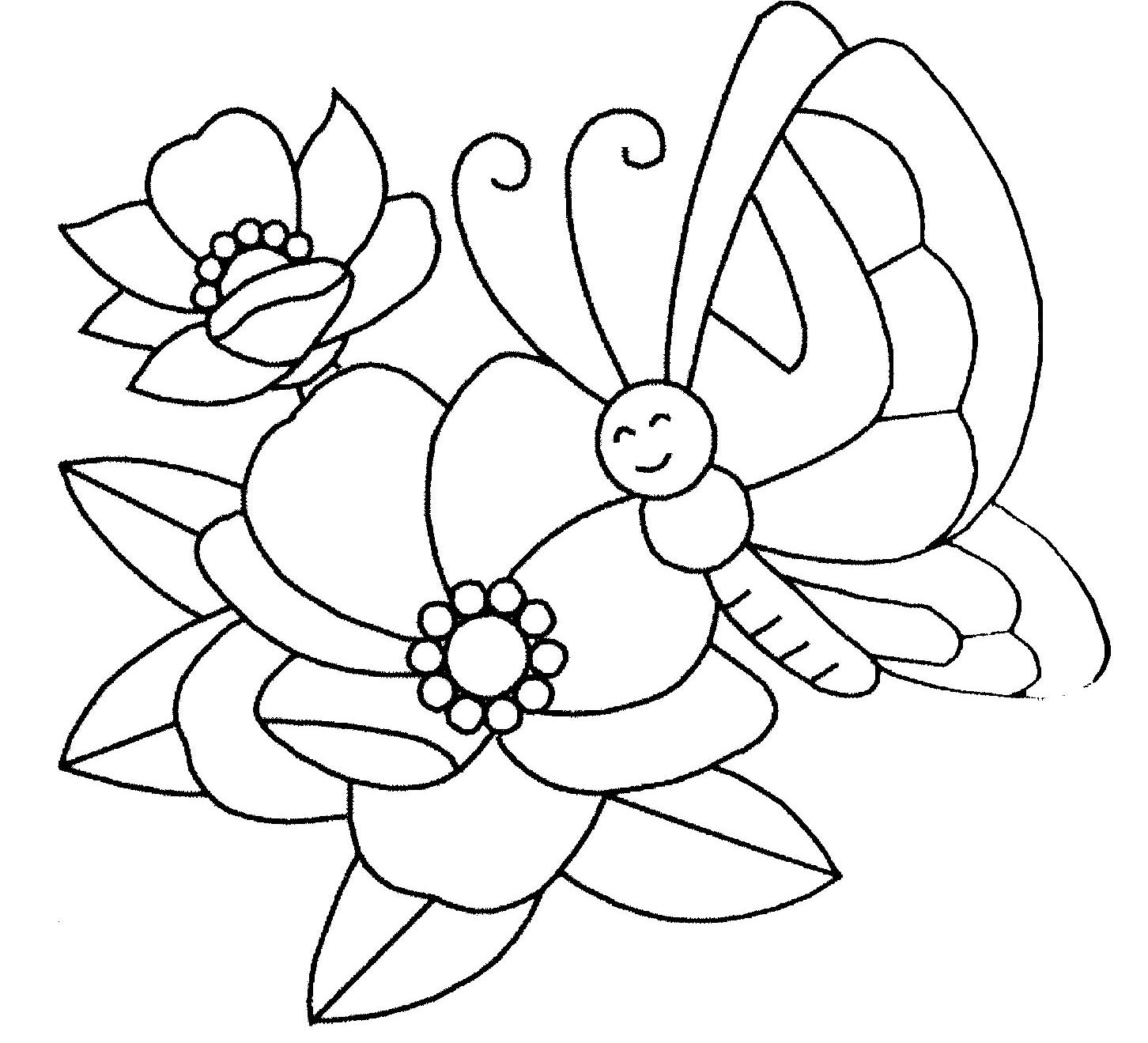 Coloriages à imprimer : Fleurs, numéro : 17218