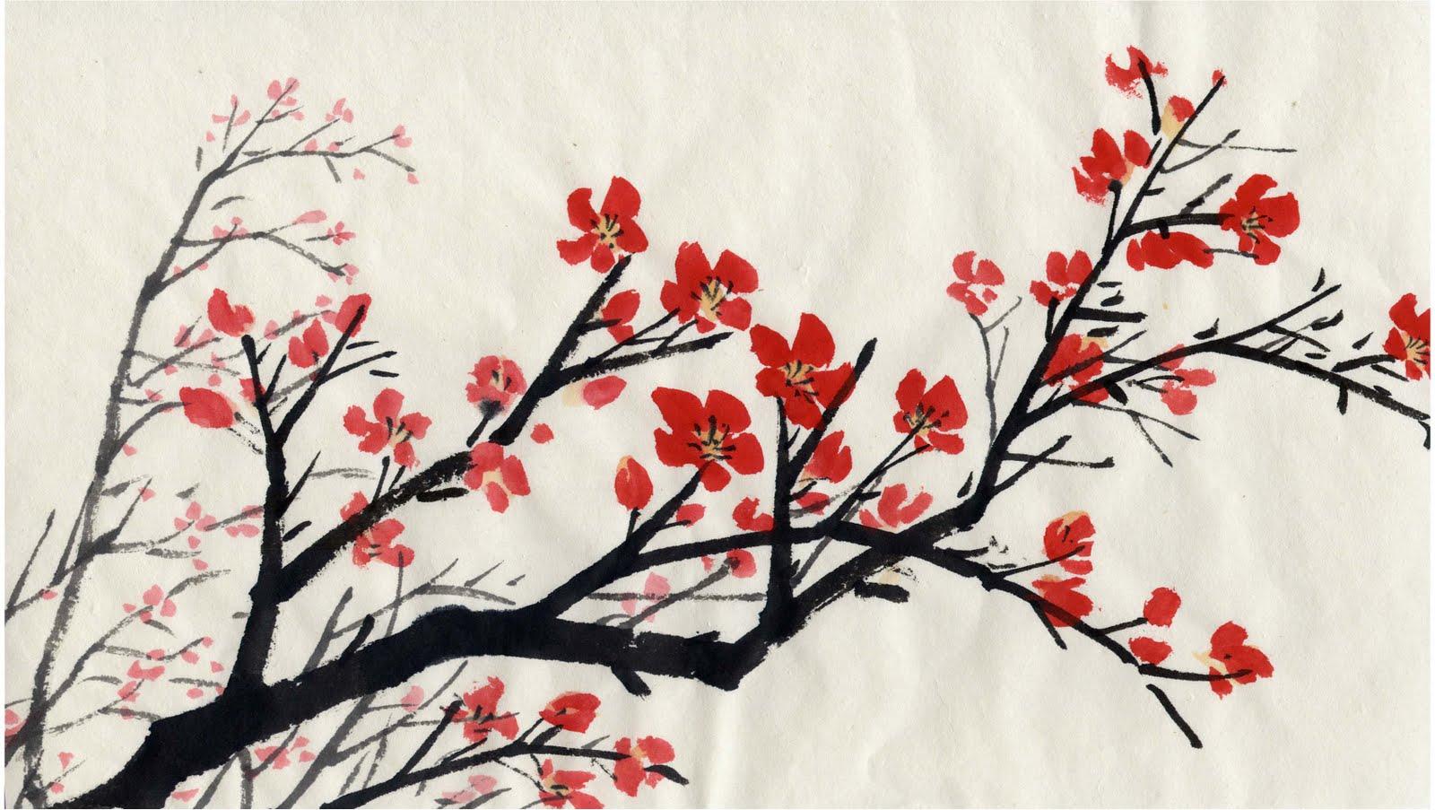 Dessins en couleurs imprimer fleurs num ro 274890 - Dessin arbre chinois ...