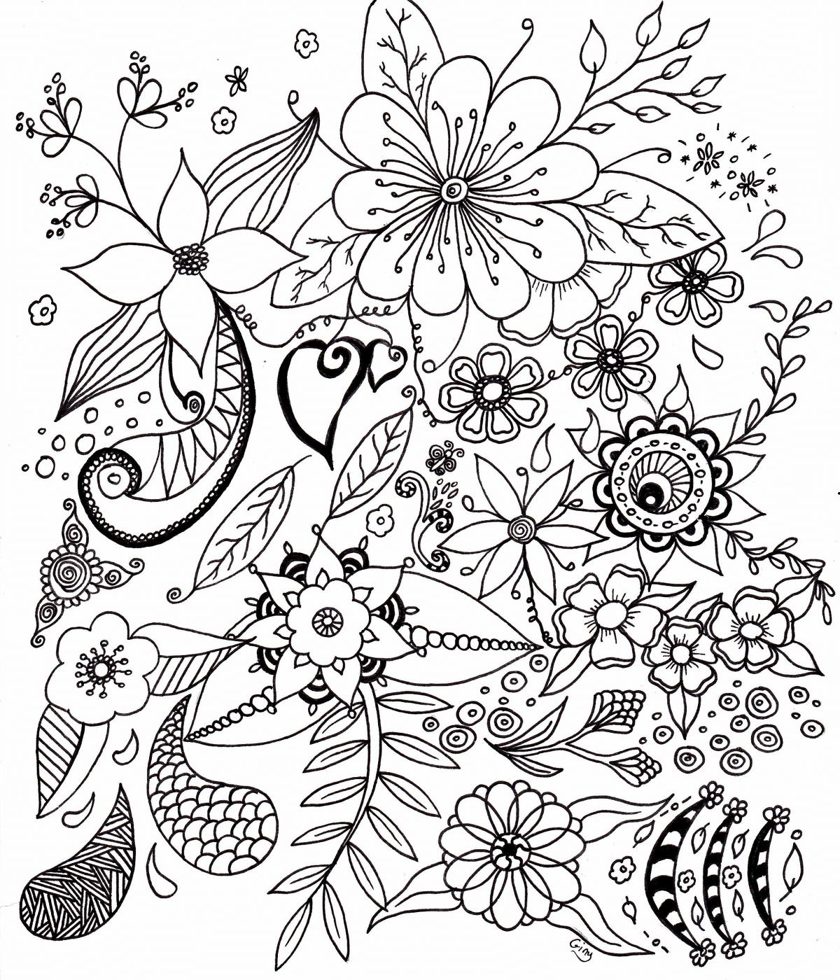 Coloriages à imprimer : Fleurs, numéro : 2eabc502