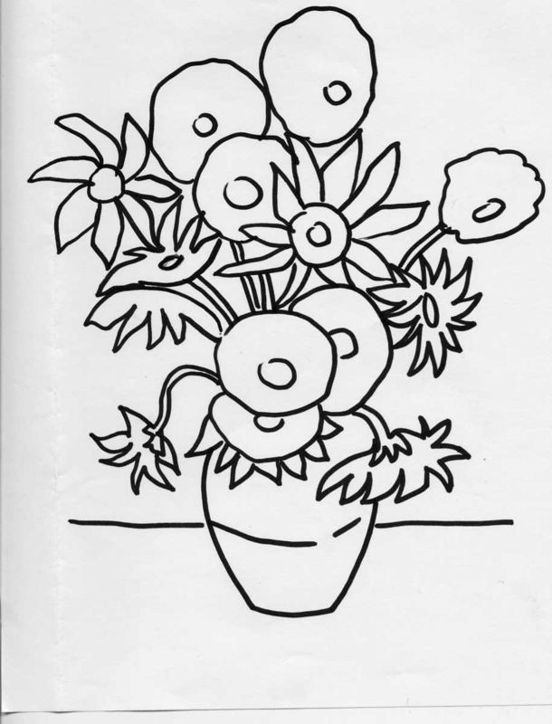 Coloriages à imprimer : Fleurs, numéro : 3147