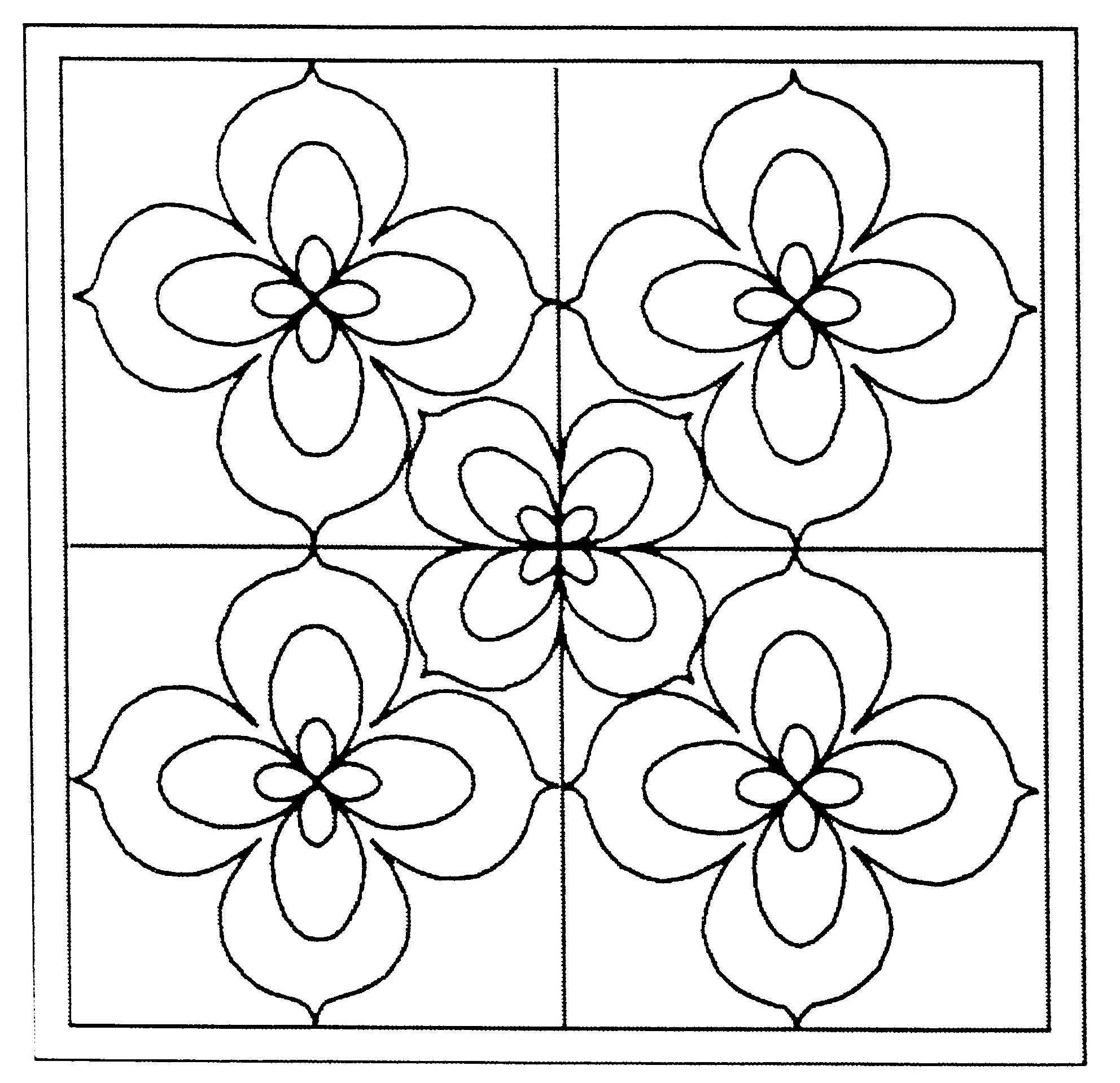 Coloriages imprimer fleurs num ro 672858 - Fleurs en dessin ...