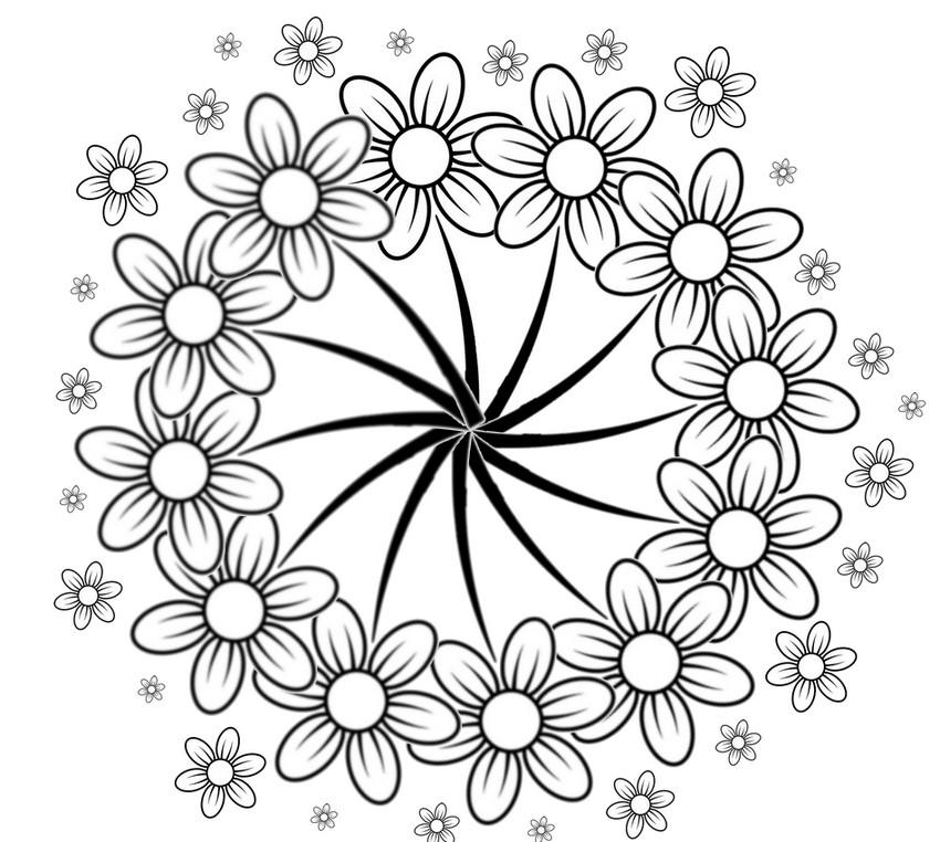 Coloriages à imprimer : Fleurs, numéro : 755201