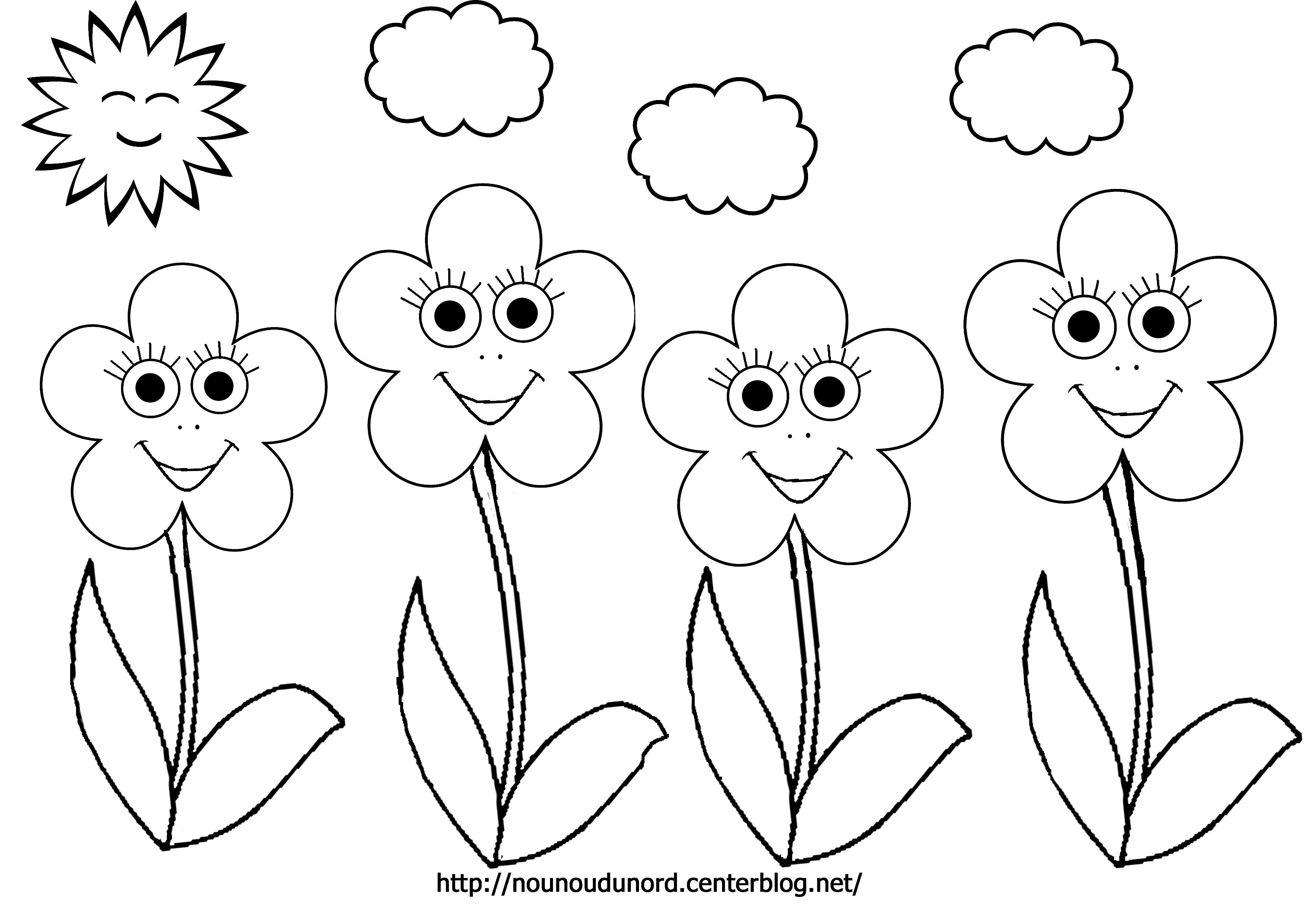 Coloriages à imprimer : Fleurs, numéro : 89da2c87